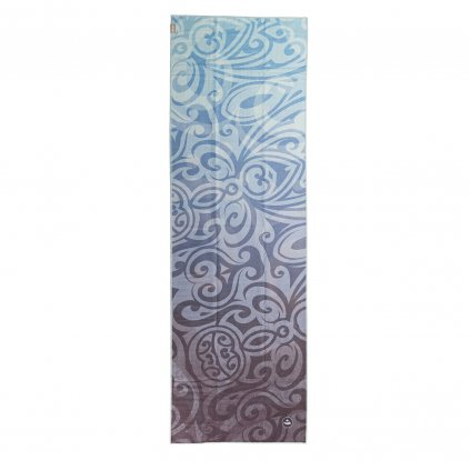 907amm yoga towel art collection maori magic above