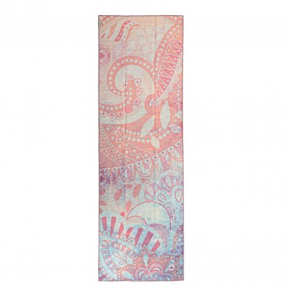 907apm yoga towel art collection paislesy mist above