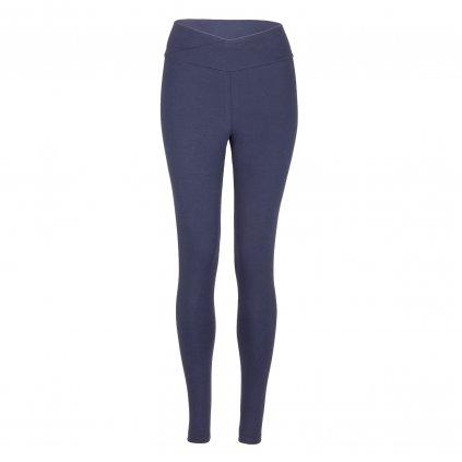 ea0da yamadhi basic leggins cross waist black iris front