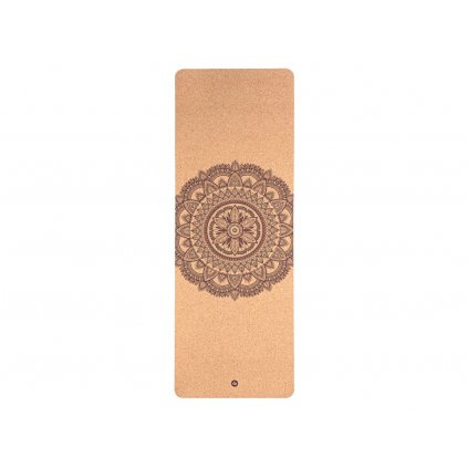 Bodhi Phoenix Yoga mat Cork Bicolour MANDALA 185 x 66 cm x 4mm
