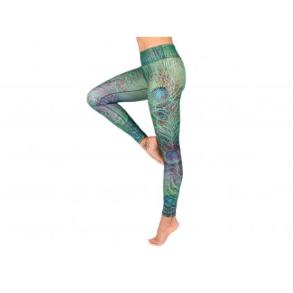 Bodhi Niyama Feathered Beauty leggings