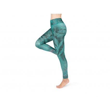 Bodhi Niyama Enchanted Forest HIGH WAIST leggings