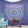 Wall Indian Mandala sheet blue15804/S