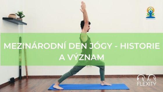 Mezinárodní den jógy - historie a význam