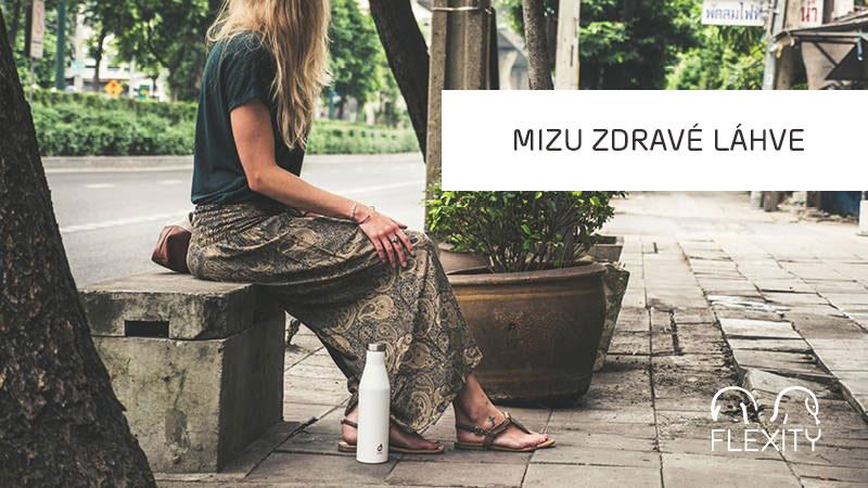 Mizu - zdravé láhve na pití, které chrání životní prostředí