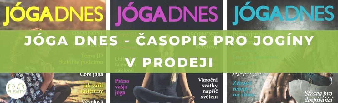 JOGA DNES 1. časopis pro jogíny v prodeji