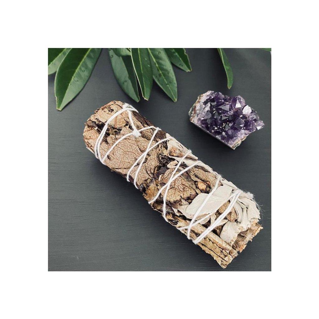 Vykuřovací Svazky - Bílá a Černá Šalvěj 10 cm
