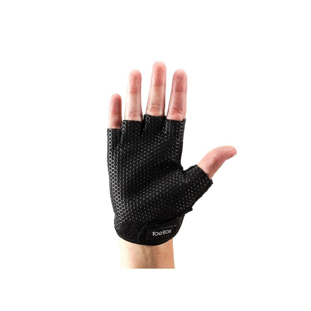 ToeSox Grip Rukavice Černá