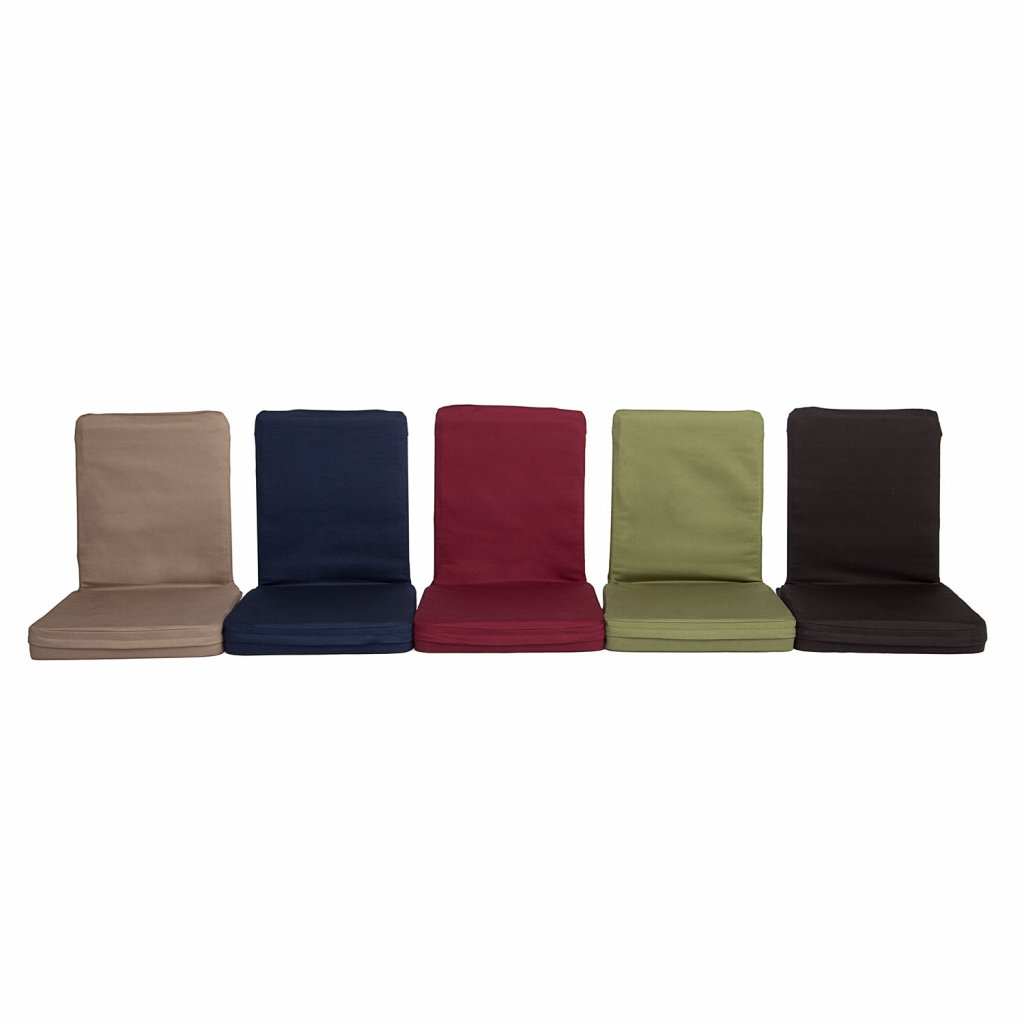 Bodhi Židle Na Podlahu Mandir XL 50 x 46 cm (Barva Tmavomodrá)