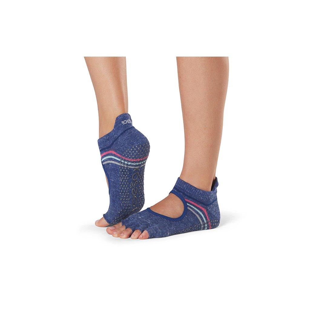 Toesox Halftoe Bellarina Grip protiskluzové ponožky (Jock)
