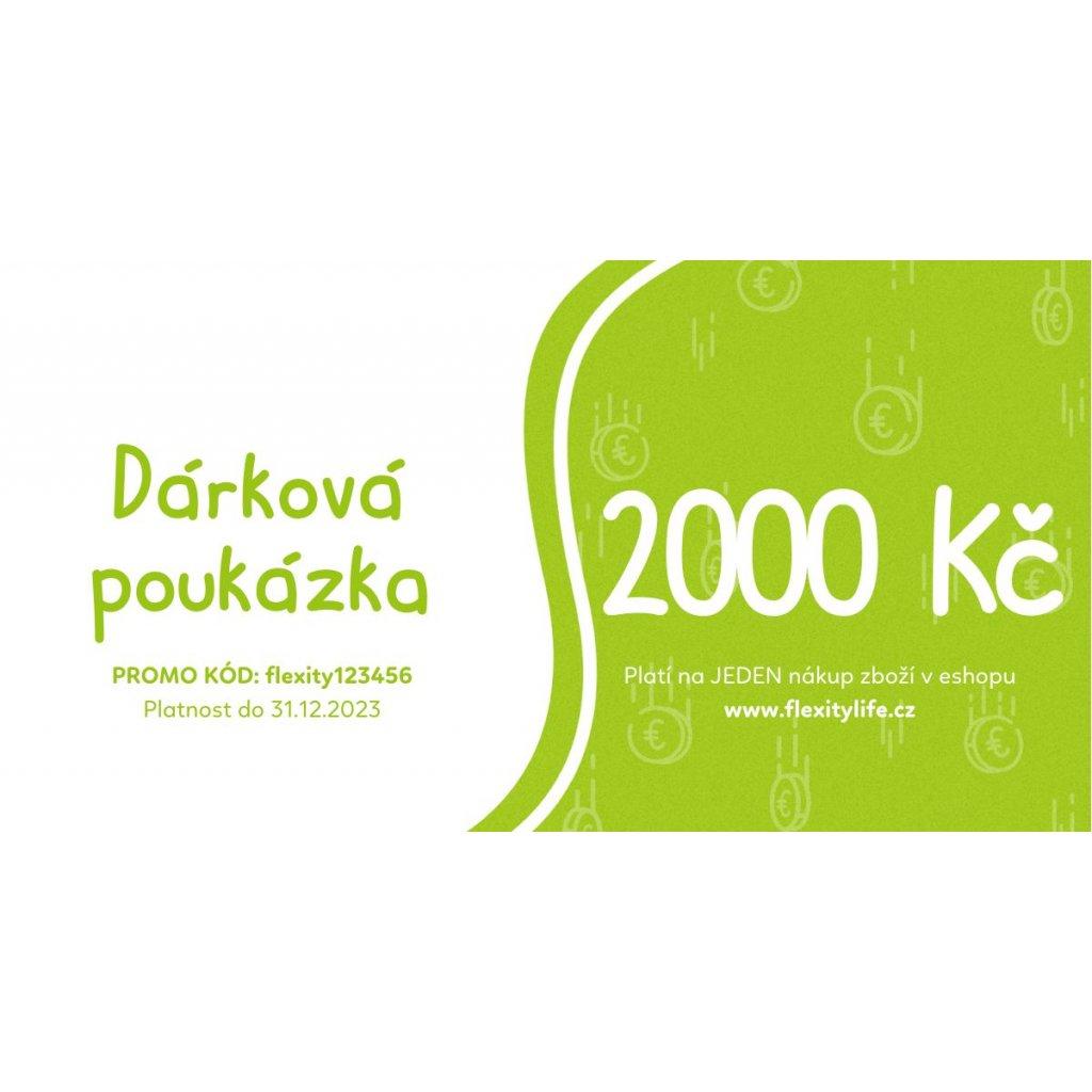 Poukazka CZ 2000