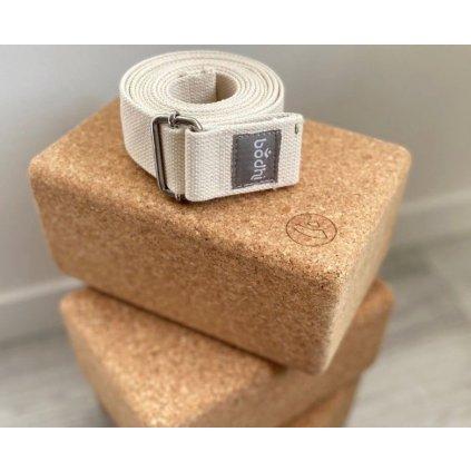 ykxxl yoga meditation big block cork brick banderole