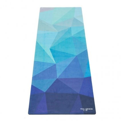 1044 3 yoga design lab travel mat geo blue joga podlozka 1mm