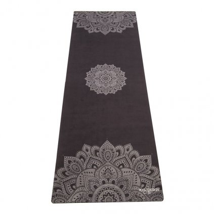 1050 3 yoga design lab travel mat mandala black joga podlozka 1mm