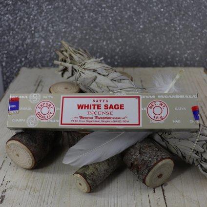AWG Satya White Sage (Bílá šalvěj) vonné tyčinky 15 g