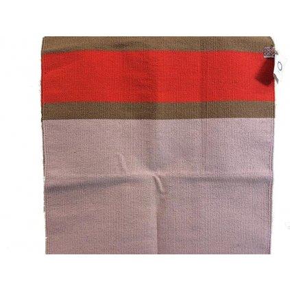 1140 leela yoga koberce koberec na jogu bavlneny svetle seda cervena 185x75 cm