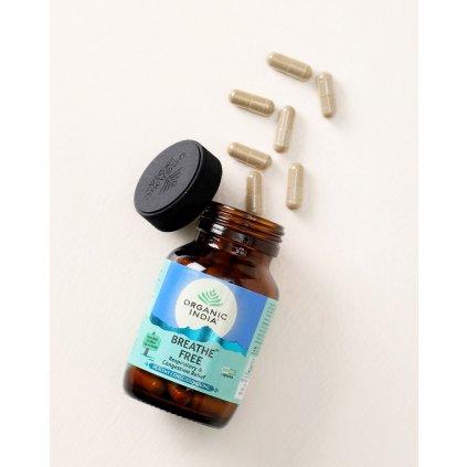 B Free kapsuly Organic India