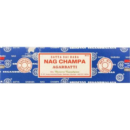 Sai Baba Nag Champa Agarbatti vonné tyčinky 100 g