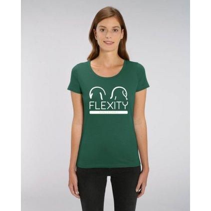 zelene damske tricko flexity