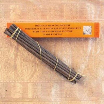 Tibetan Healing Incense pôvodné tibetské vonné tyčinky 18 ks