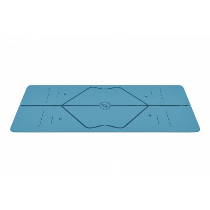 261 3 liforme yoga mat joga podlozka 4 mm modra