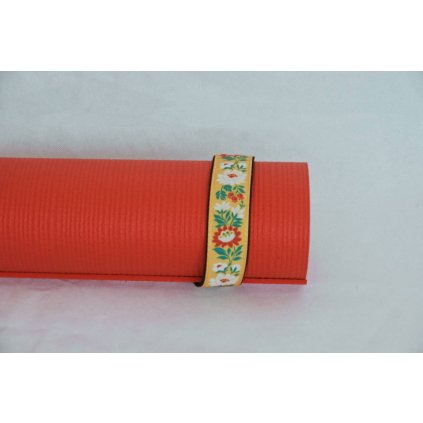 675 4 popruh na jogamatku 40 mm vzorovane