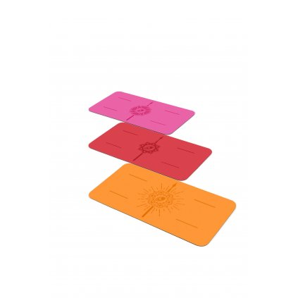 Liforme Knee pad joga podložka malá 33cm x 64 cm limited edition