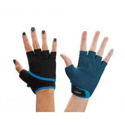 ToeSox Grip Rukavice Modrá