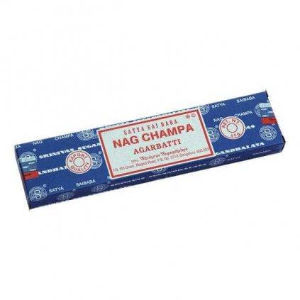 Bodhi Sai Baba Nag Champa Agarbatti vonné tyčinky 40 g