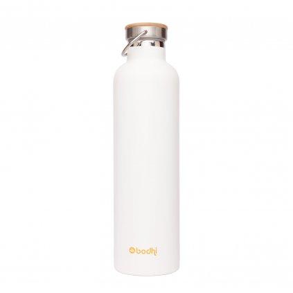 5161x yoga lifestyle bodhi isolierte trinkflasche edelstahl gross blume des lebens sammelbild linie