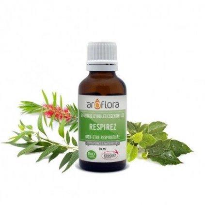 Aroflora 100% čistá směs přírodních esenciálních olejů Dýchací cesty 30ml