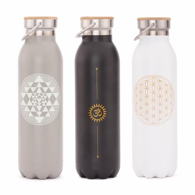 Bodhi Yoga Bodhi Vacuum Bottle termoska 600 ml Barva: šedá