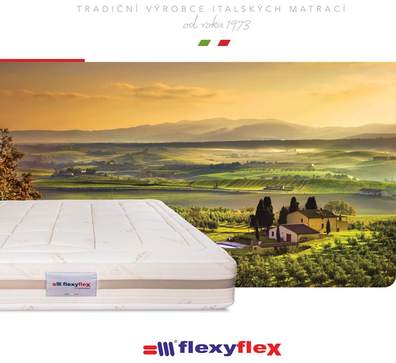 Jiný rozměr spánku s matracemi FlexyFlex
