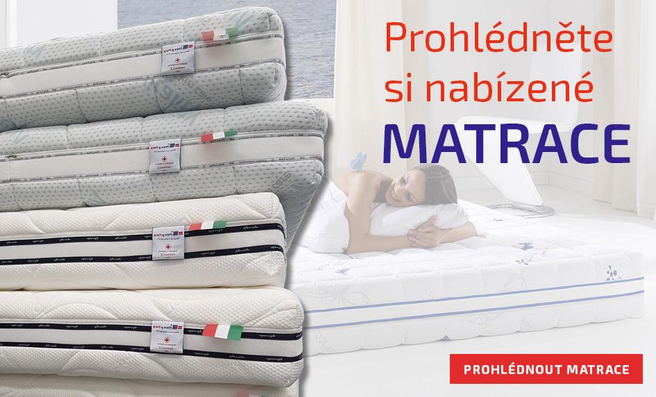 Prohlédněte si nabízené matrace