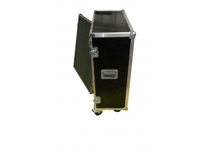 case na kytarový reprobox o velikosti 4x12, přední odnímatelné víko.