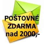 Doprava na 2000,- ZDARMA
