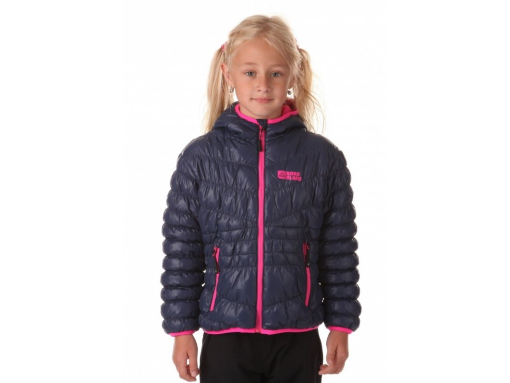 Dětská zimní bunda NBWJK6464 modrá