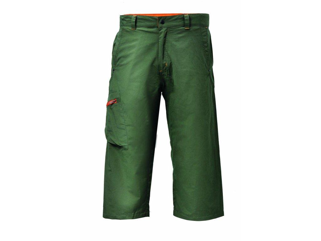 Kalhoty KLOTEN 3/4 pánské Army zelená Velikost pánská: M