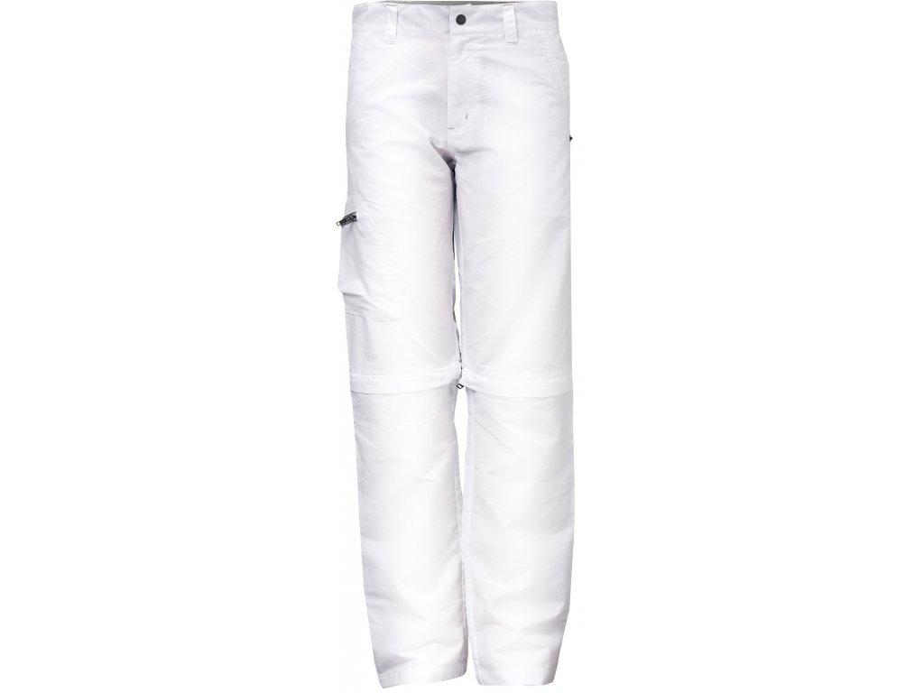 Kalhoty KLOTEN dámské bílé odepínací nohavice