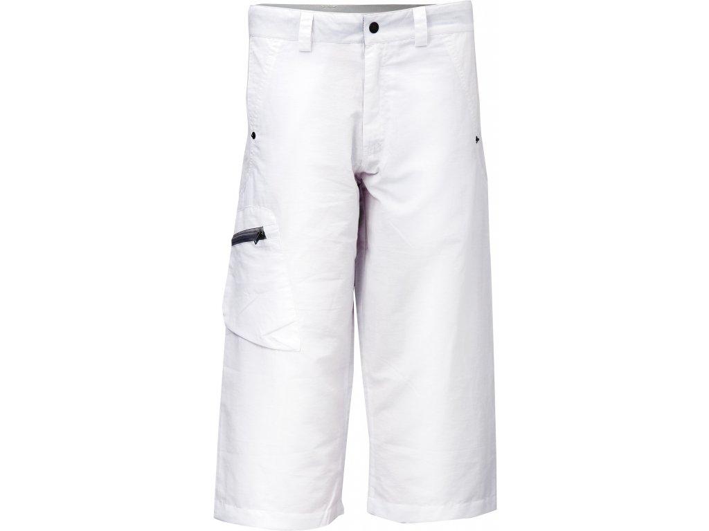 Kalhoty 3/4 KLOTEN dámské bílé Velikost dámská: 34