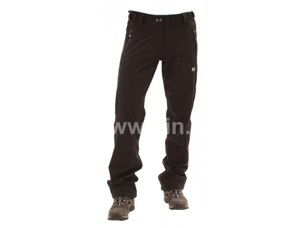 Dětské softshellové kalhoty MOLL černé NBSKP4398