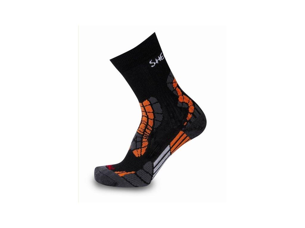 Ponožky CHAMLANG černé velikost ponožky: 39-42
