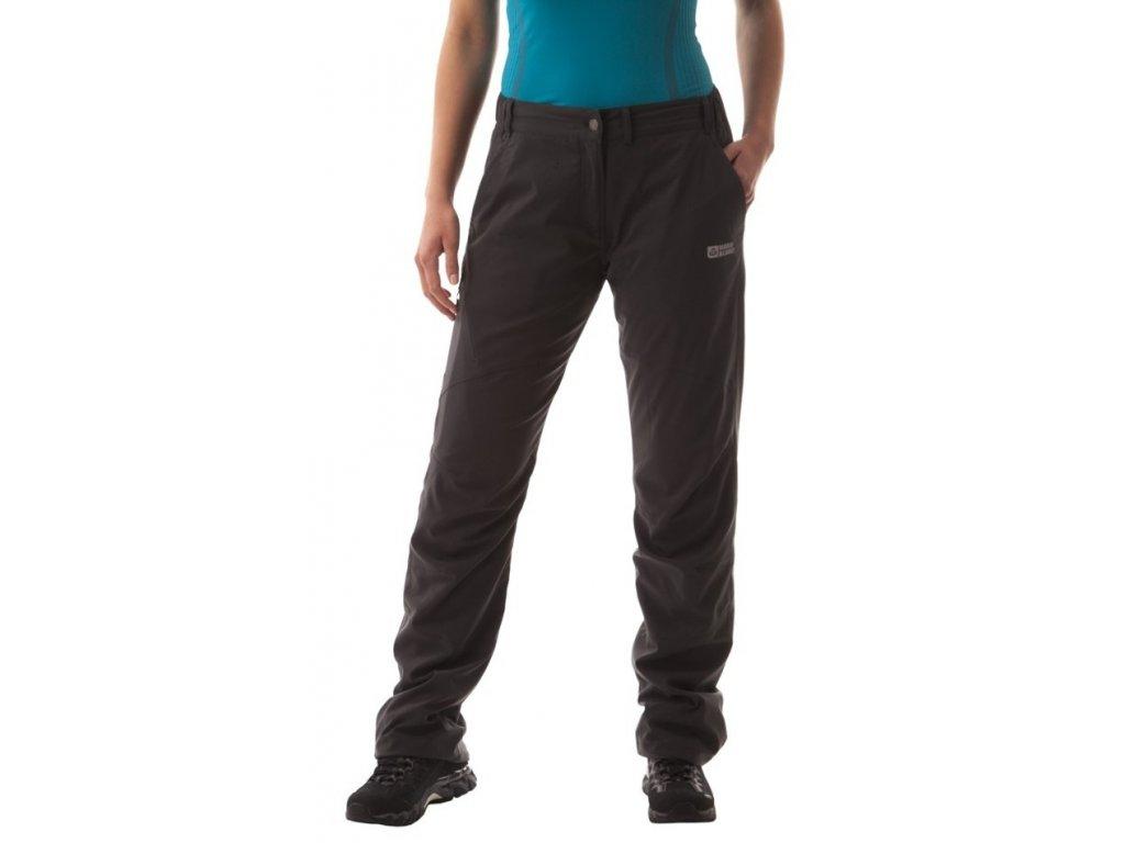 Dámské outdoorové kalhoty zateplené grafitové NBFLP4573