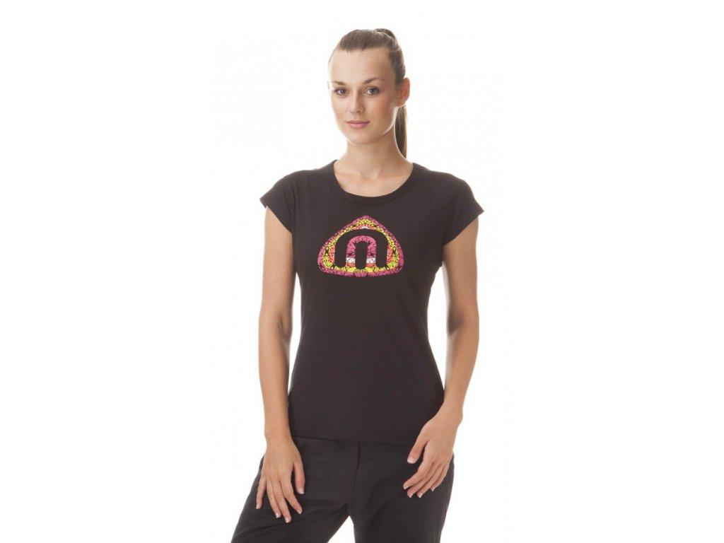 Dámské tričko černé NBFLT5382