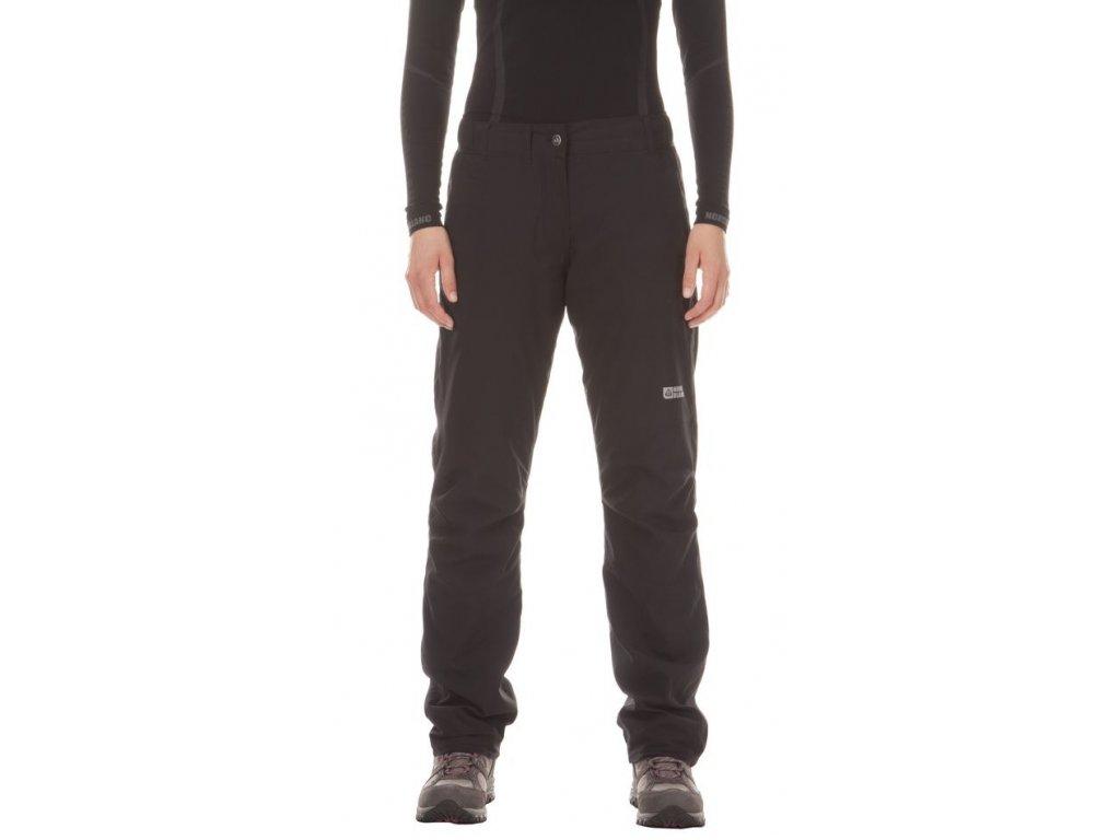 Dětské zateplené kalhoty černé Nordblanc