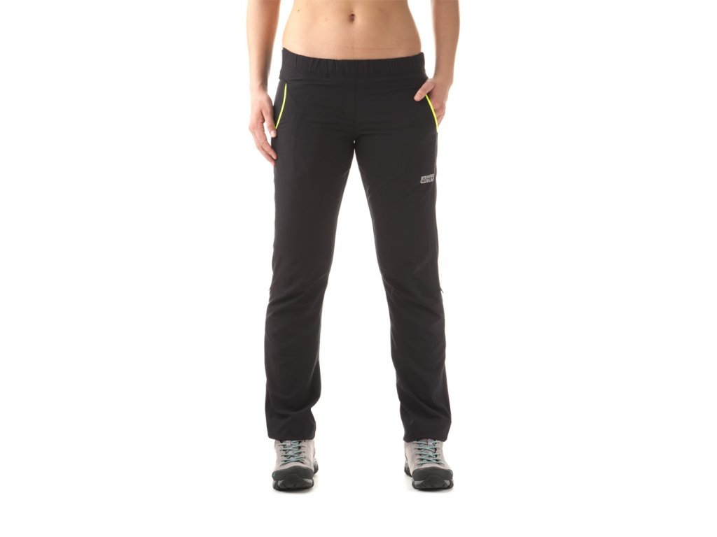 Dětské letní outdoorové kalhoty černé NBSPK5717