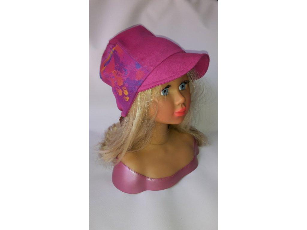 Bavlněná čepice kšiltovka