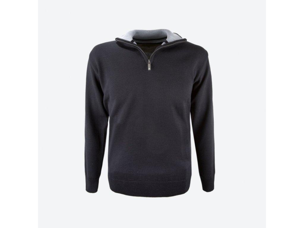 Pánský svetr s merino KAMA 4105