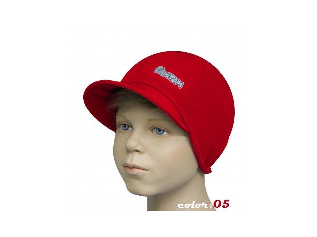 Dětská softshellová čepice bekovka
