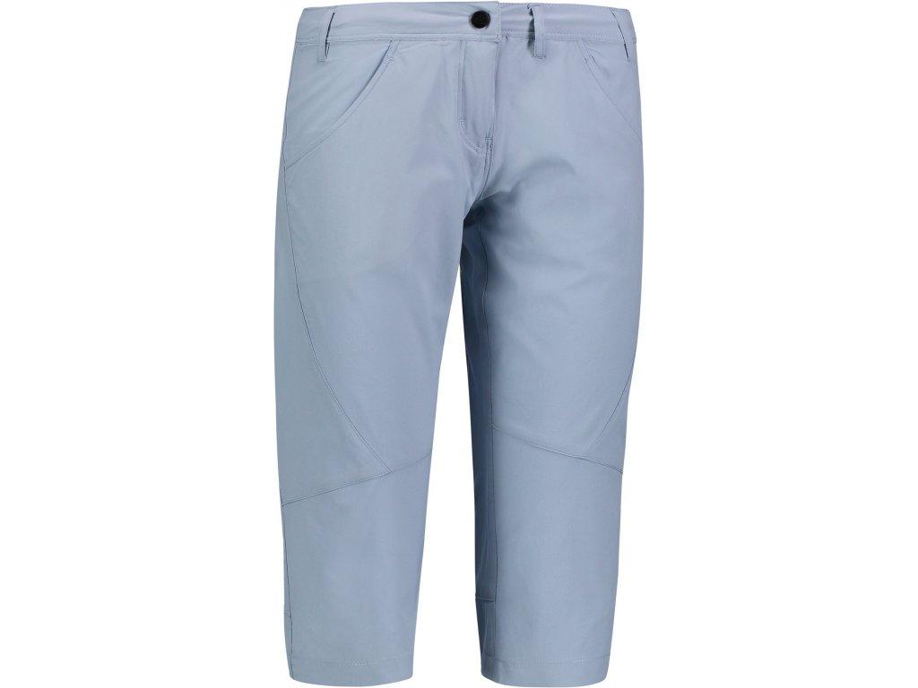 Dámské outdoorové 3/4 kalhoty NBSPL6645 šedomodré